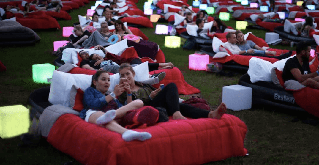 Watch movies in bed while outside at this summer event in Vancouver