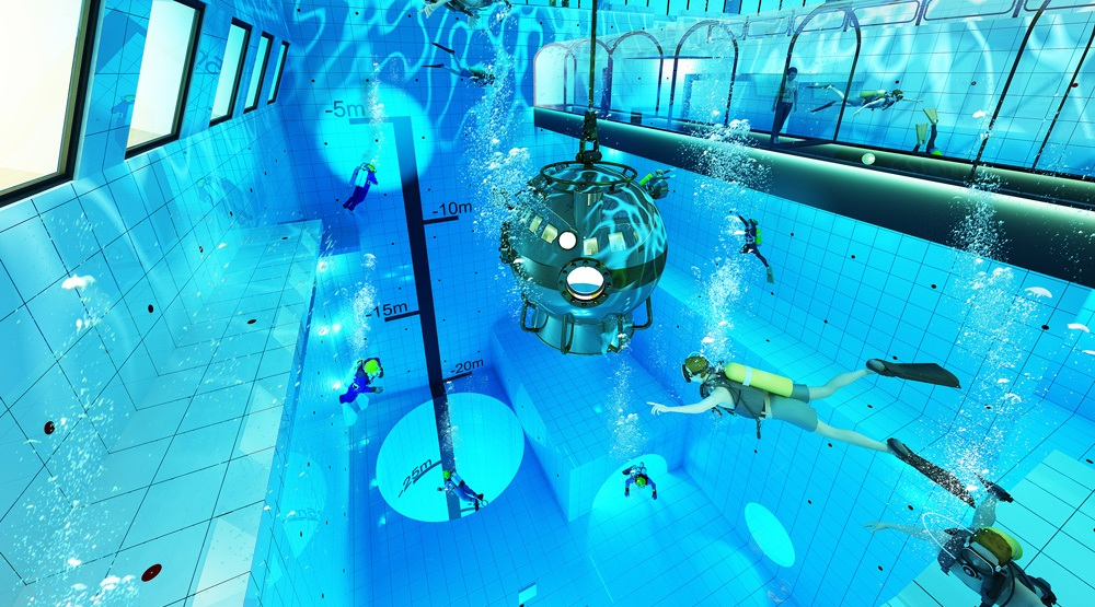 World's deepest pool to open in Poland (PHOTOS)