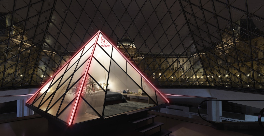 The Louvre is becoming an Airbnb for one night