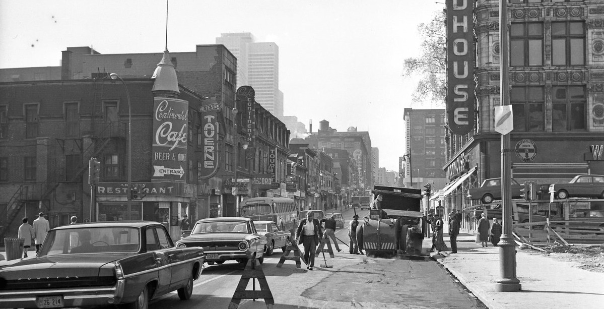 This Twitter account shares pics of how Montreal has changed over time (PHOTOS)