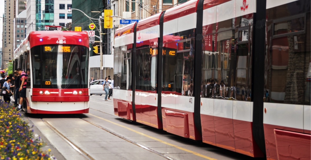 The city is holding public review sessions to discuss the future of Toronto transit