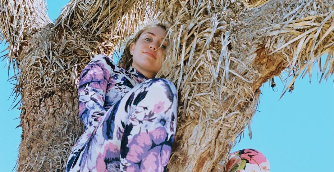 Miley Cyrus facing backlash for posing in a Joshua tree for the 'gram
