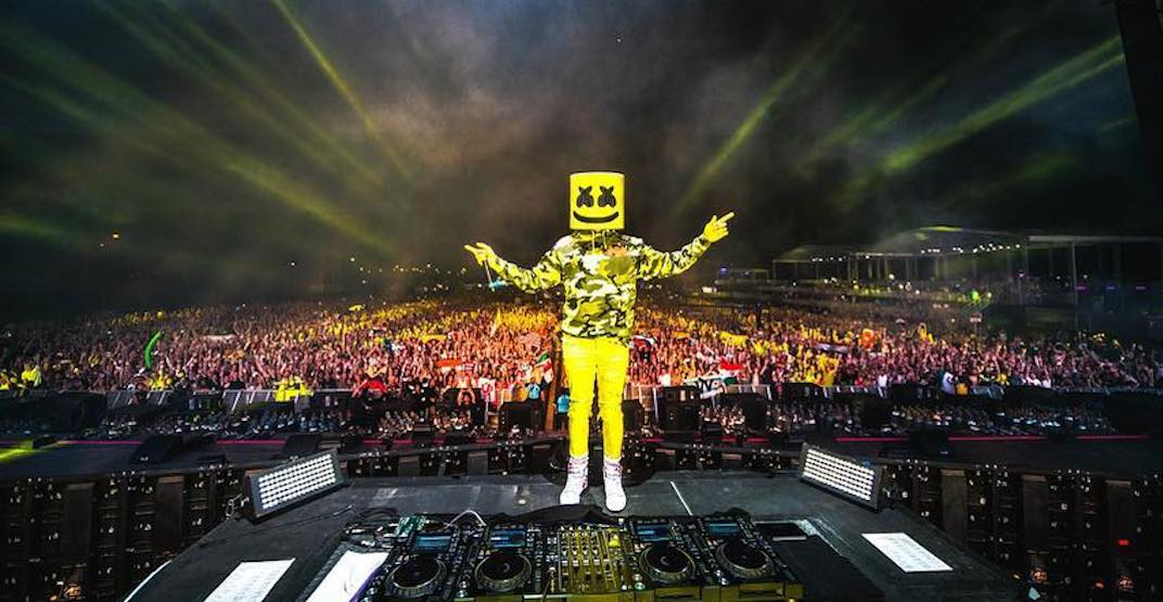Marshmello is headlining this music fest in Toronto this May