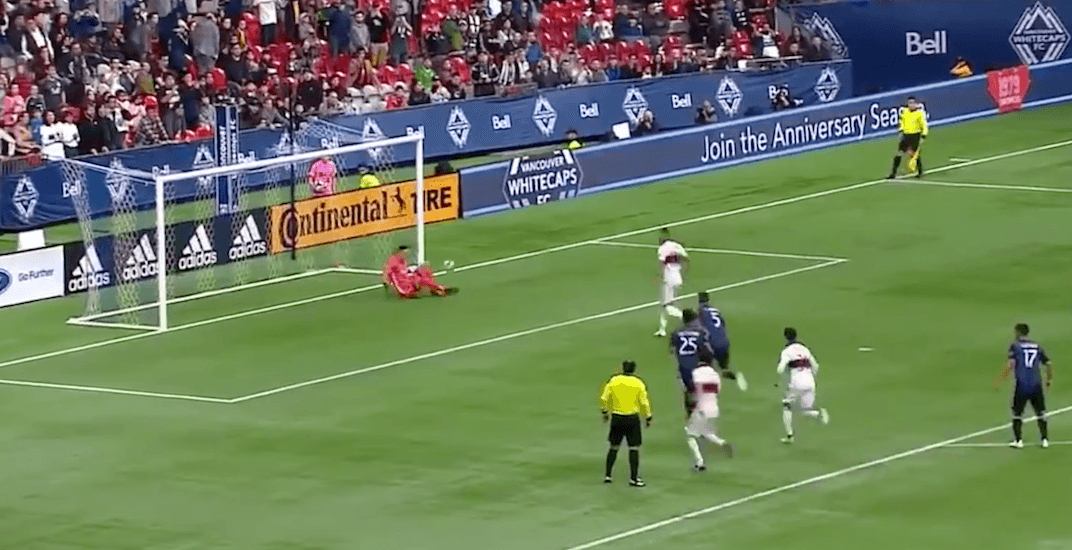 Cheeky Whitecaps penalty kick attempt goes horribly wrong (VIDEO)