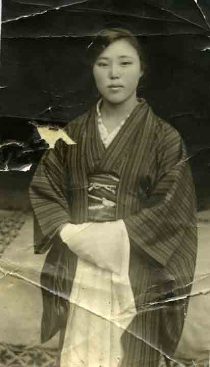 Portrait of a picture bride, before leaving Japan for Canada, March 1926. NNM 2011.5.1.3