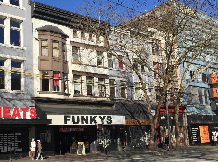 Funky Winker Bean's, on Hastings Street