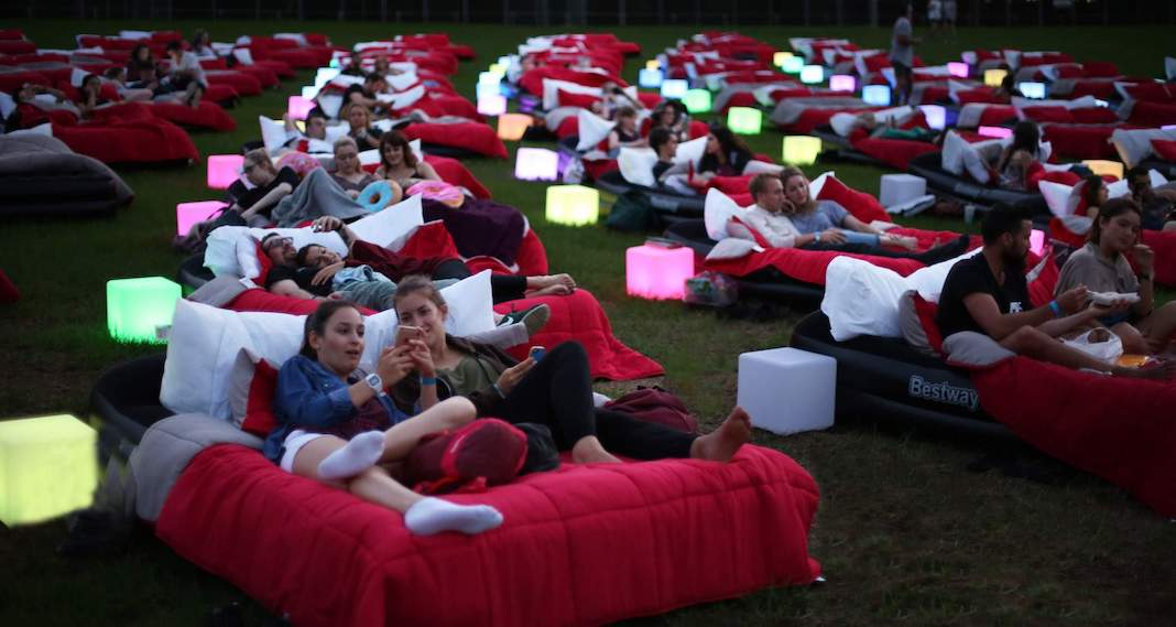 It looks like the world's largest 'bed cinema' is coming to Toronto