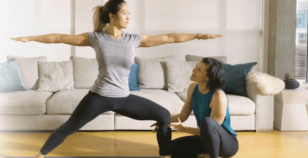 This new streaming service let's you take professional yoga classes at home
