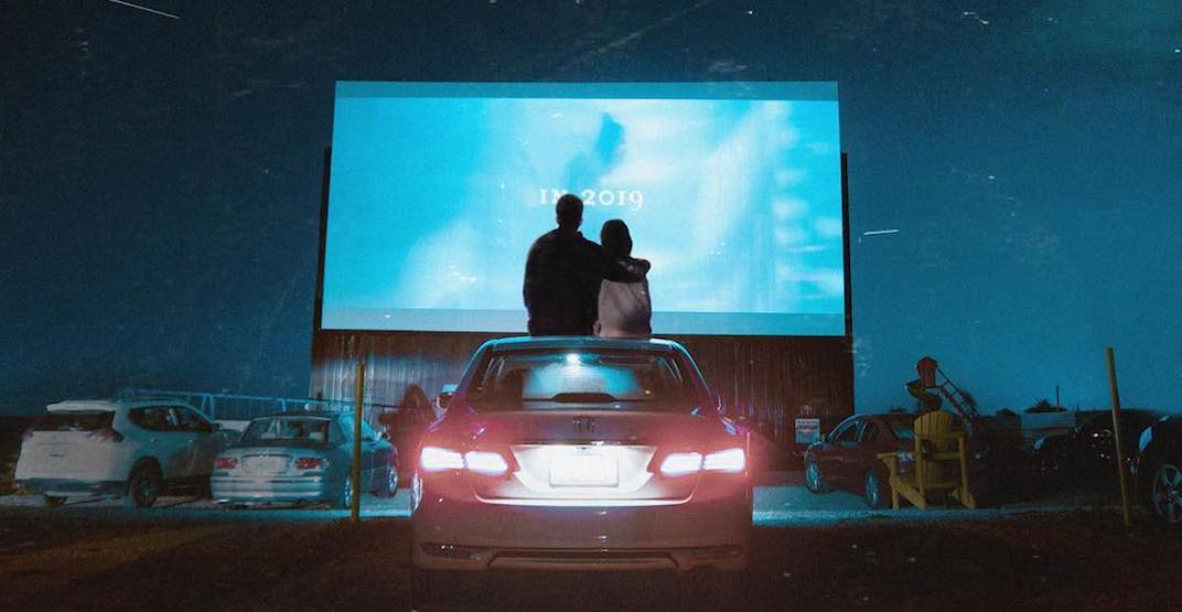 You can now watch movies under the stars at this drive-in near Toronto