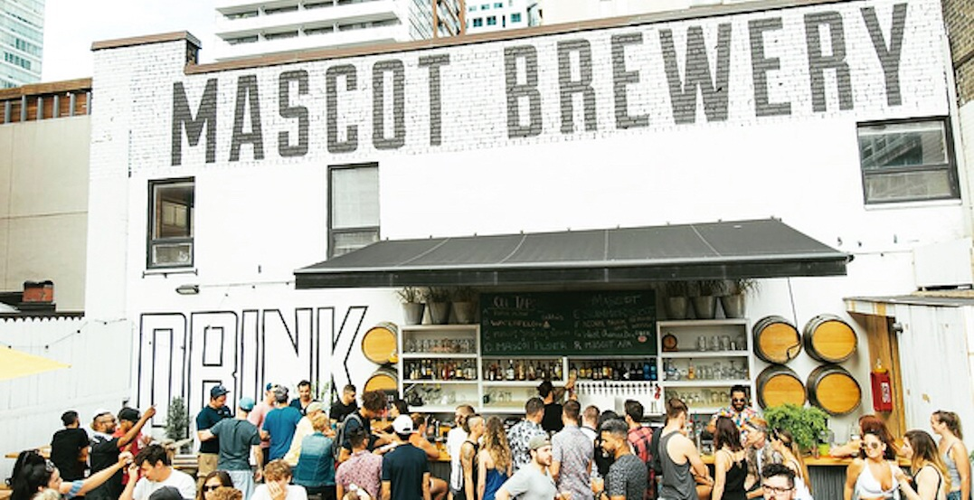 Downtown Toronto is about to get a new beer garden