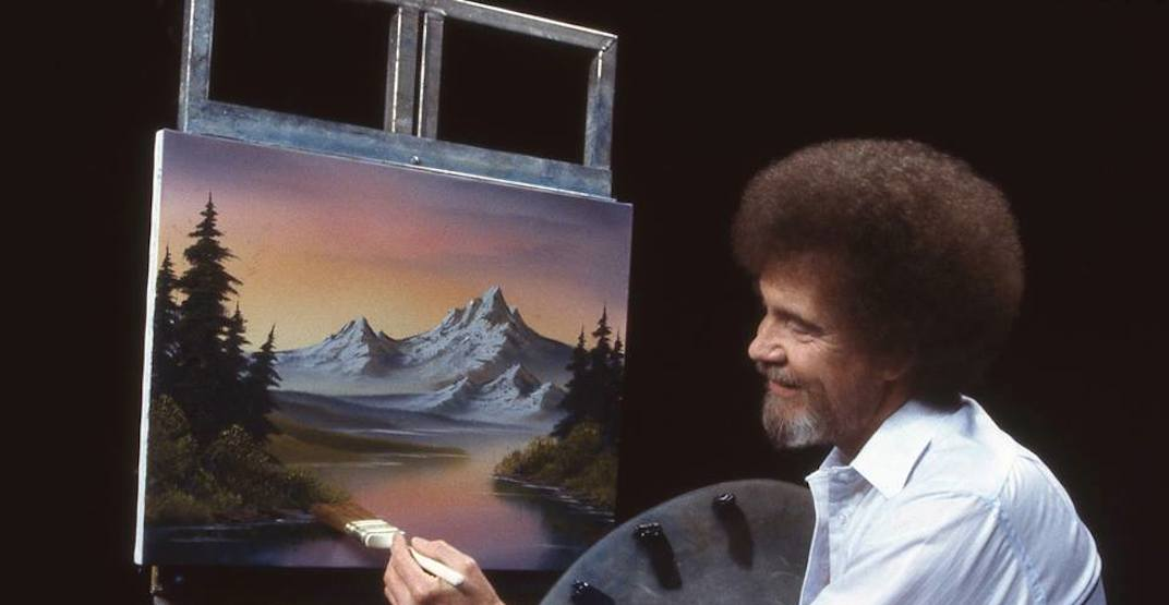 Canada's first ever Bob Ross exhibit has landed in BC