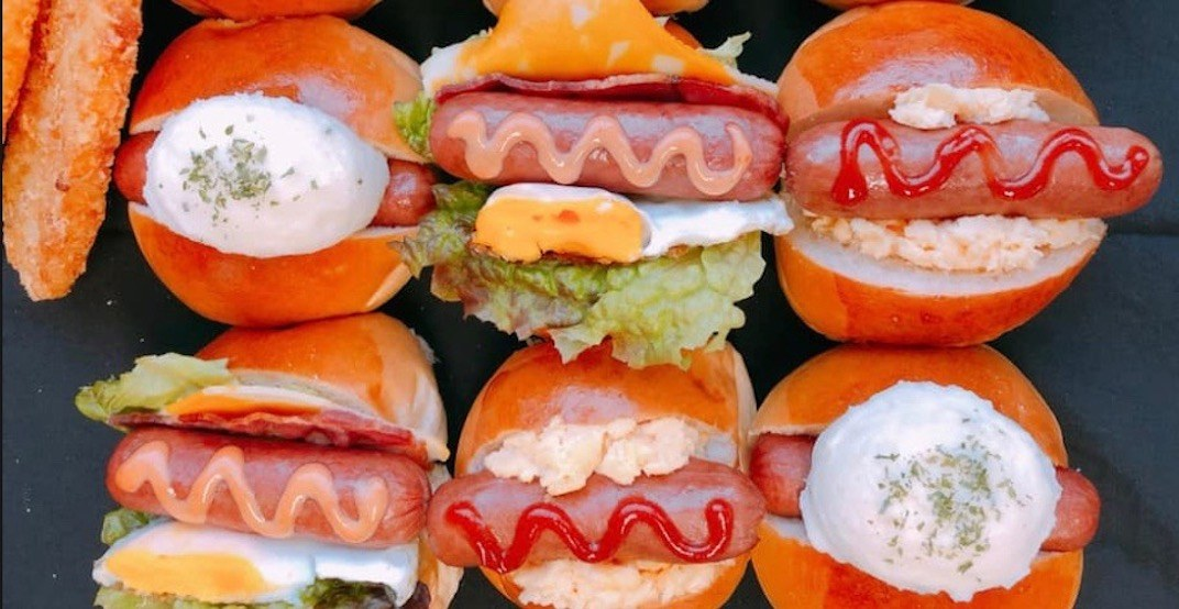 Japadog Robson has launched a hotdog breakfast menu
