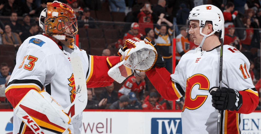Rittich is the logical choice as Flames' playoff starting goalie