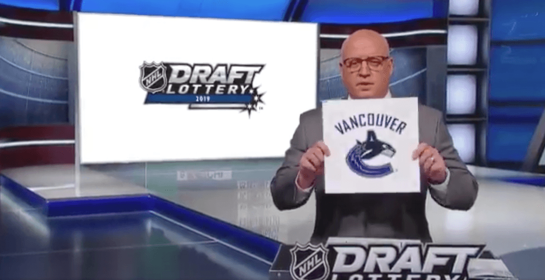 The Vancouver Canucks' 2021 draft lottery odds are set