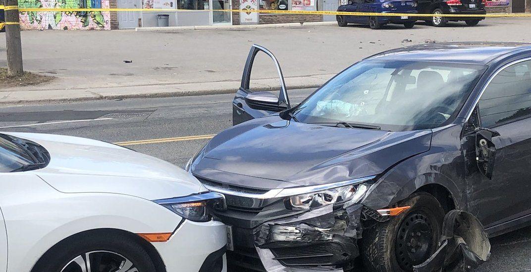 Brazen daylight shooting leads to car crash on Jane St near the 400: police (PHOTOS)