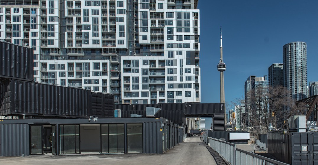Toronto's massive shipping container market officially lifts its lid