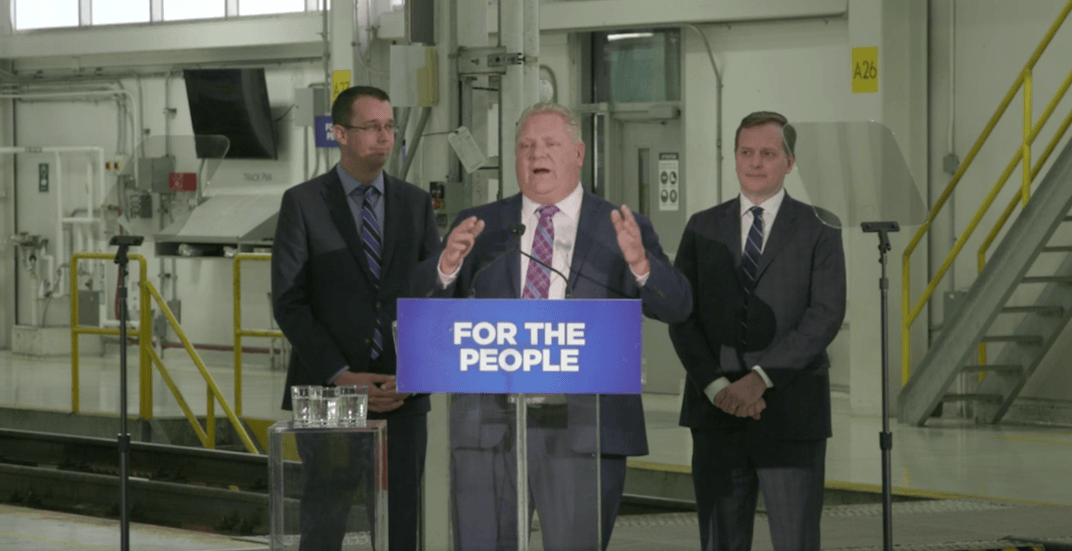 Ford announces new transit line connecting Ontario Place to Science Centre