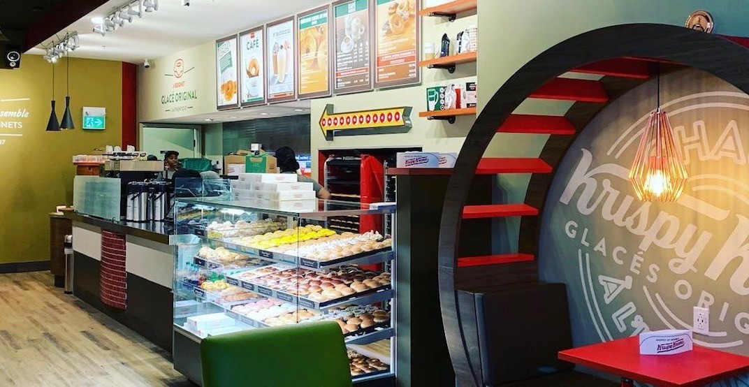 Krispy Kreme's new downtown Montreal location is open (PHOTO)