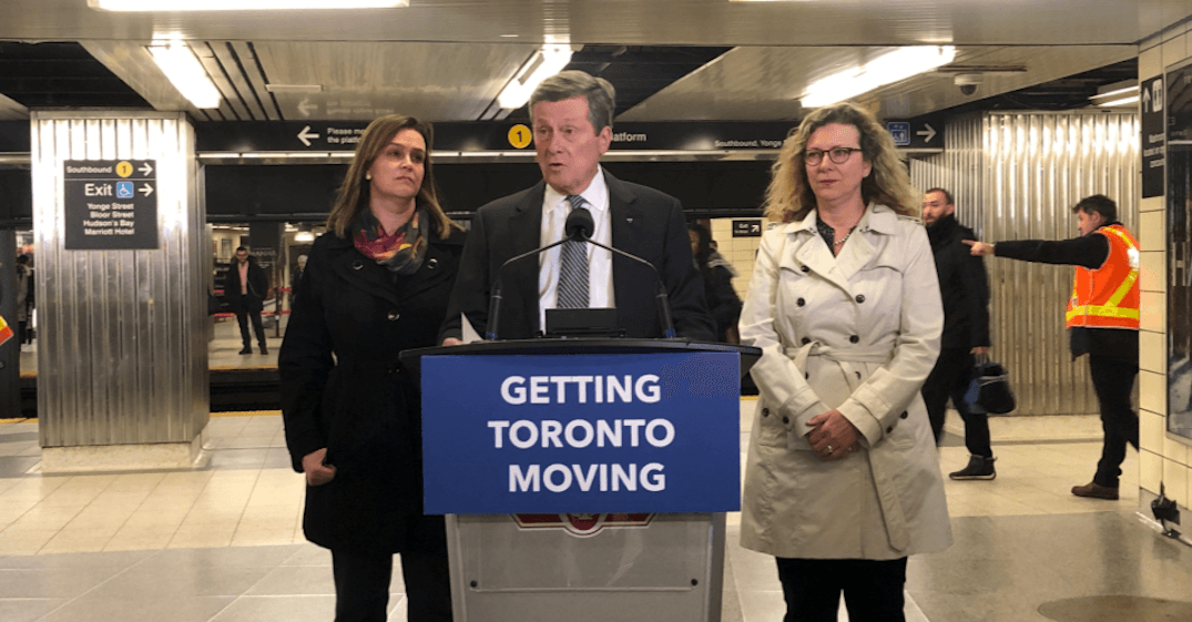 Tory has 'long list of questions' about Ford's transit plan