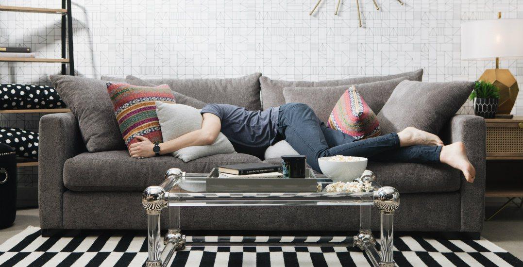 ing a sofa