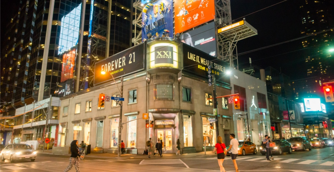 Massive Rogers flagship taking over former Forever 21 location at Yonge-Dundas Square