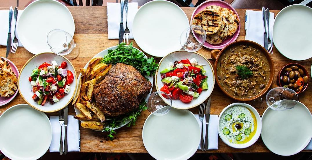 This Queen West eatery is offering delicious meals for Greek Easter