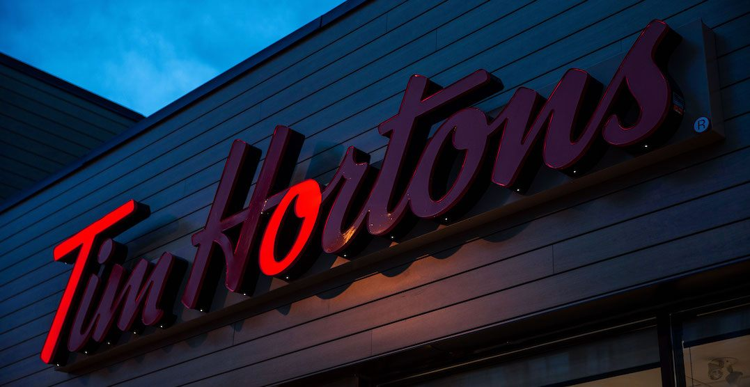 Tim Hortons changes their signs to cheer on the Toronto Maple Leafs