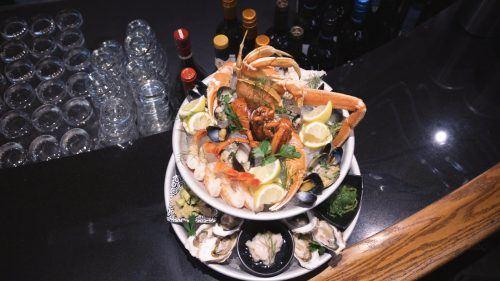 Seafood Tower at Coast