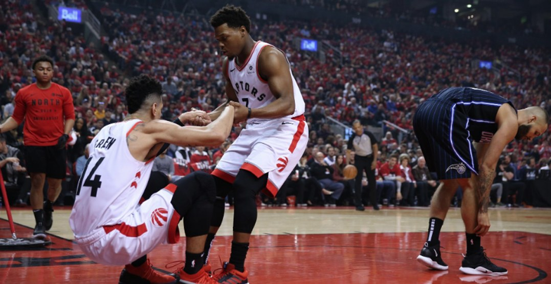 Lowry scores zero points in Raptors' Game 1 upset playoff loss