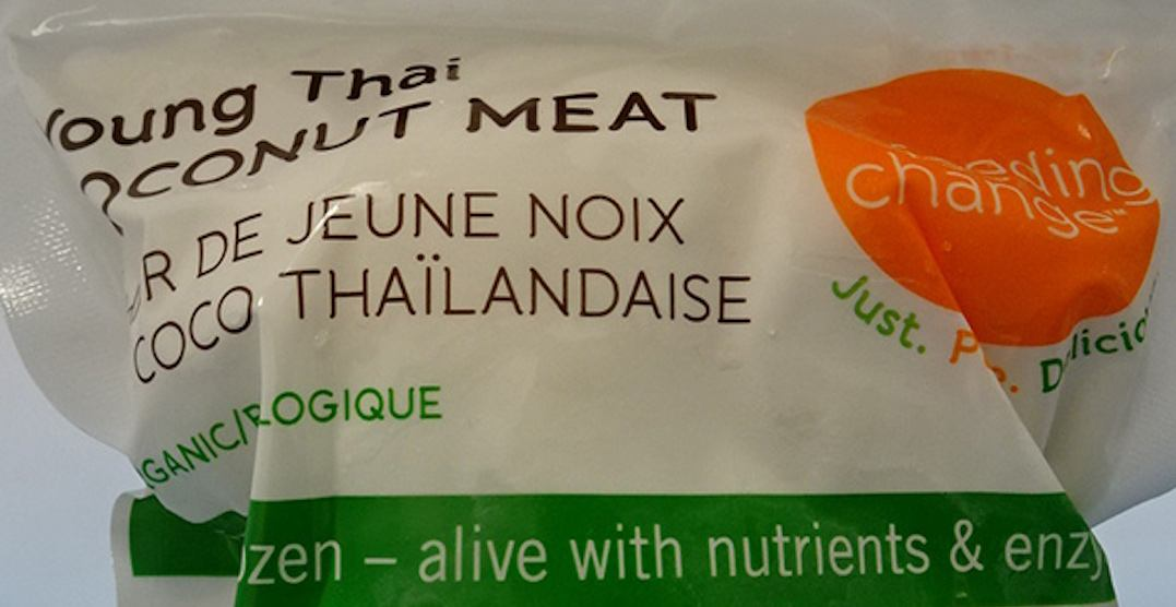 Feeding Change brand coconut meat recalled due to Salmonella risk