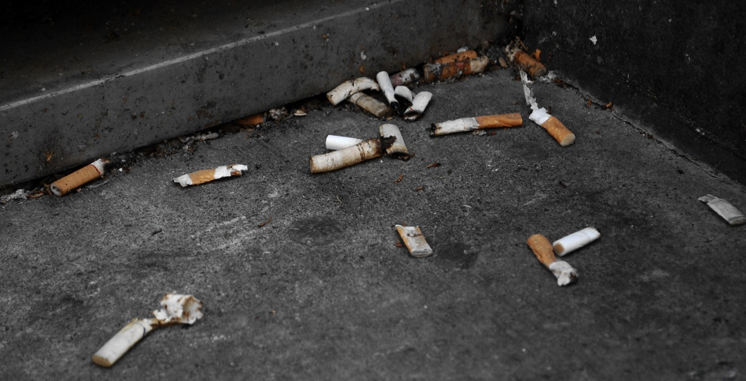 Toronto restaurants could soon be responsible for cleaning up cigarette butts