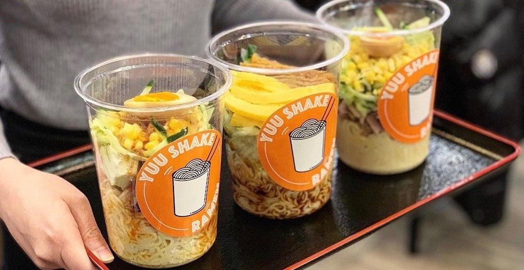 Yuu Japanese Tapas launches LA-inspired 'Shake Ramen' series this week