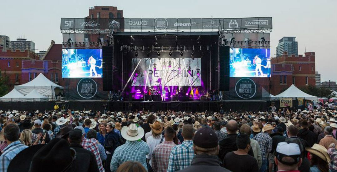 Win tickets to Calgary's Roundup Music Fest (CONTEST)
