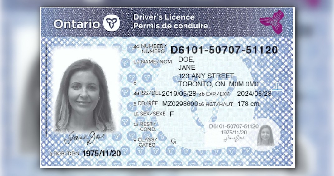 Ford government reveals new Ontario driver's license