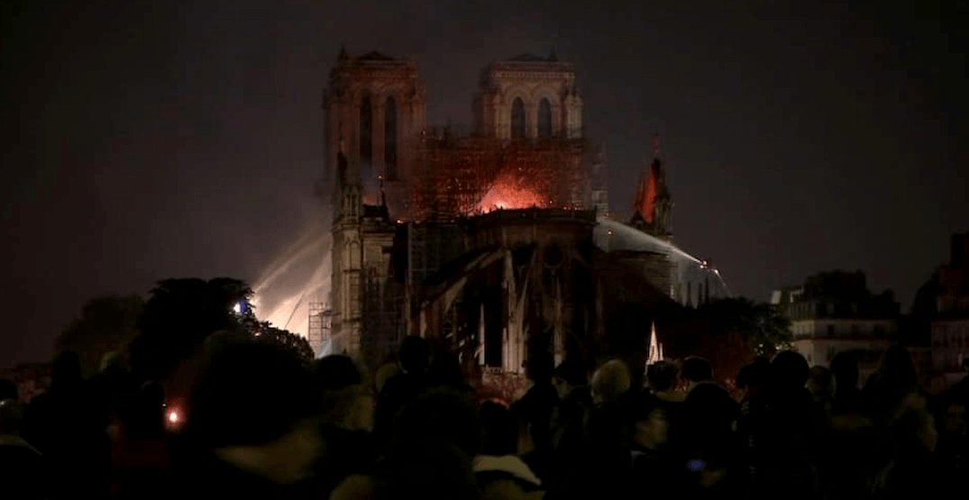 Notre-Dame Cathedral's main structure reported safe, France vows to rebuild