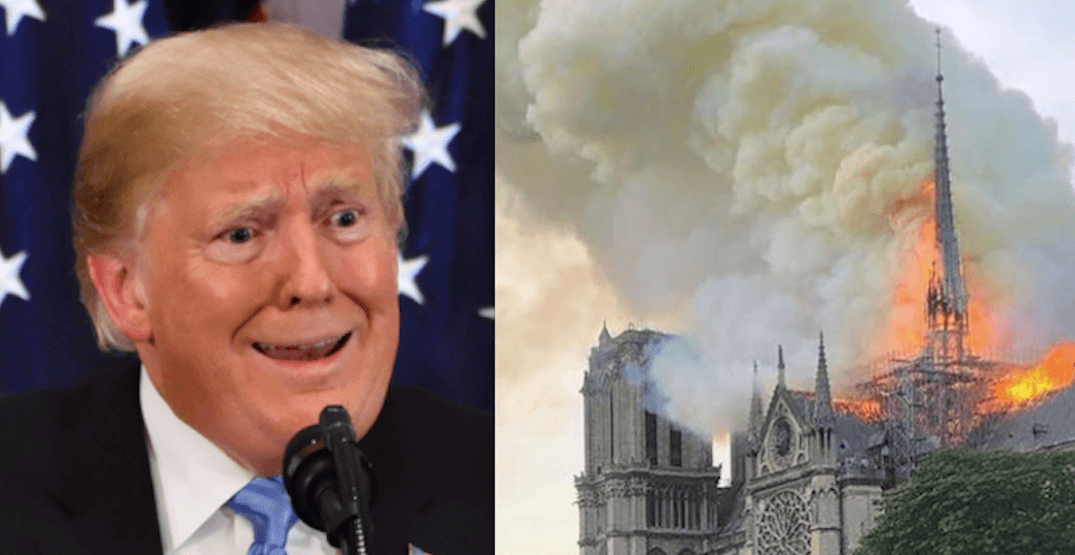Paris firefighters respond to Trump's advice on fighting Notre Dame fire