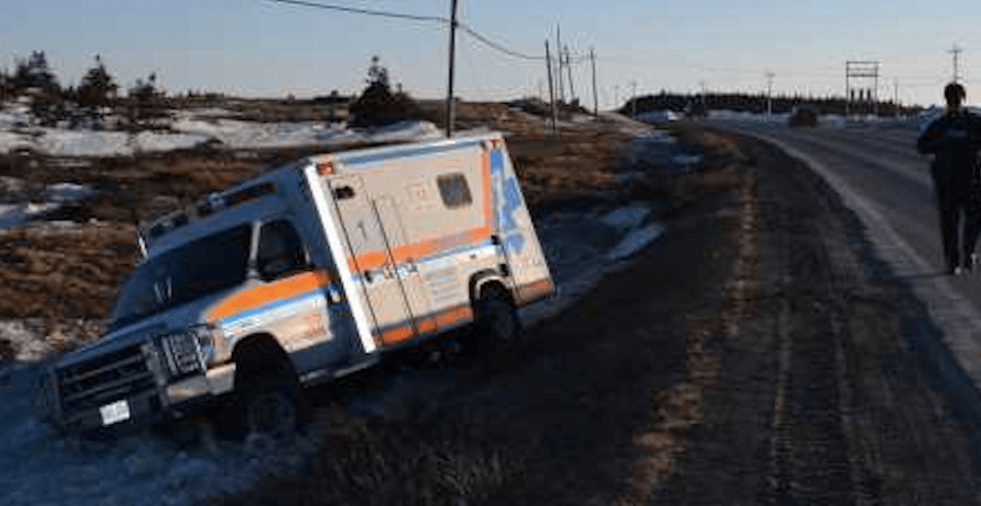 Canadian man arrested after stealing ambulance he was being transported in
