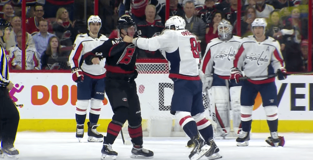 Ovechkin fight