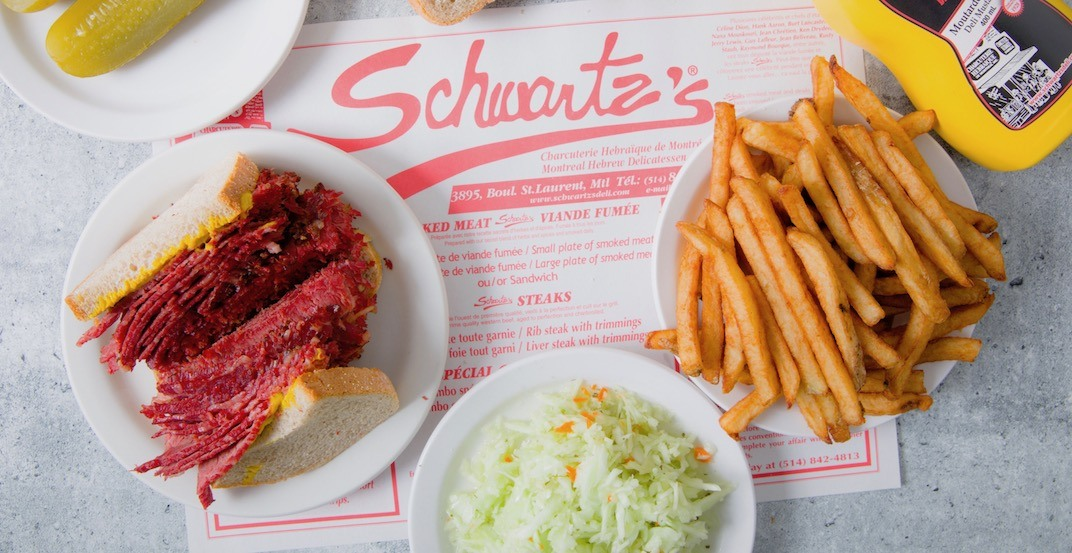 Iconic Schwartz's Deli launches delivery for the first time ever in Montreal