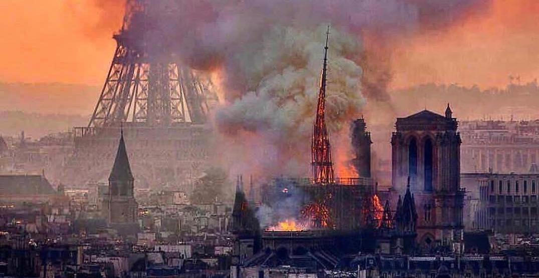 The most devastating photos from the Notre-Dame fire in Paris