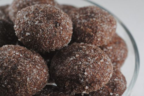Thomas Haas Chocolate Sparkle Cookies
