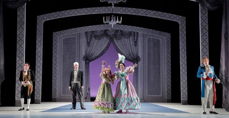 La Cenerentola (Portland Opera, 2018). Photography by Cory Weaver