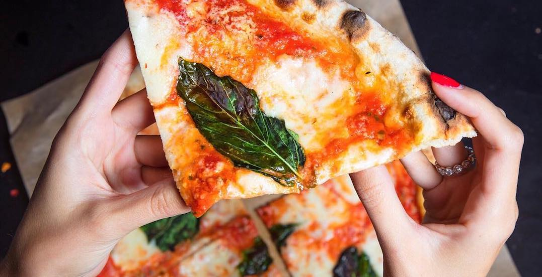 You can get FREE pizza on Bloor Street West today