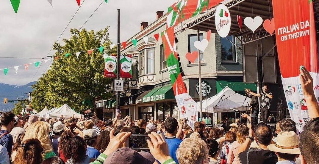 Vancouver's Italian Day on The Drive returns June 9