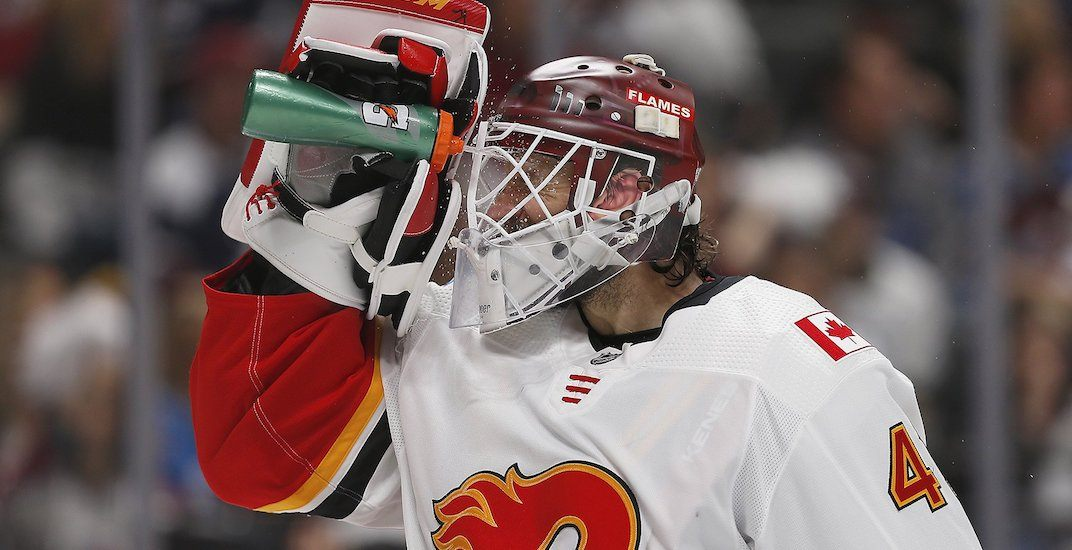 Flames on brink of elimination after blowing late lead in OT loss