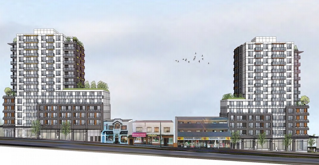Two new towers with 212 rental homes approved by Vancouver city council