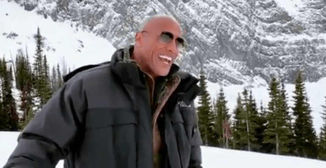 Dwayne 'The Rock' Johnson shouts out Calgary (again) in Instagram video