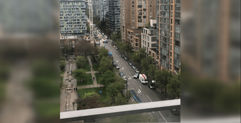 Police incident closes down major intersection downtown Vancouver
