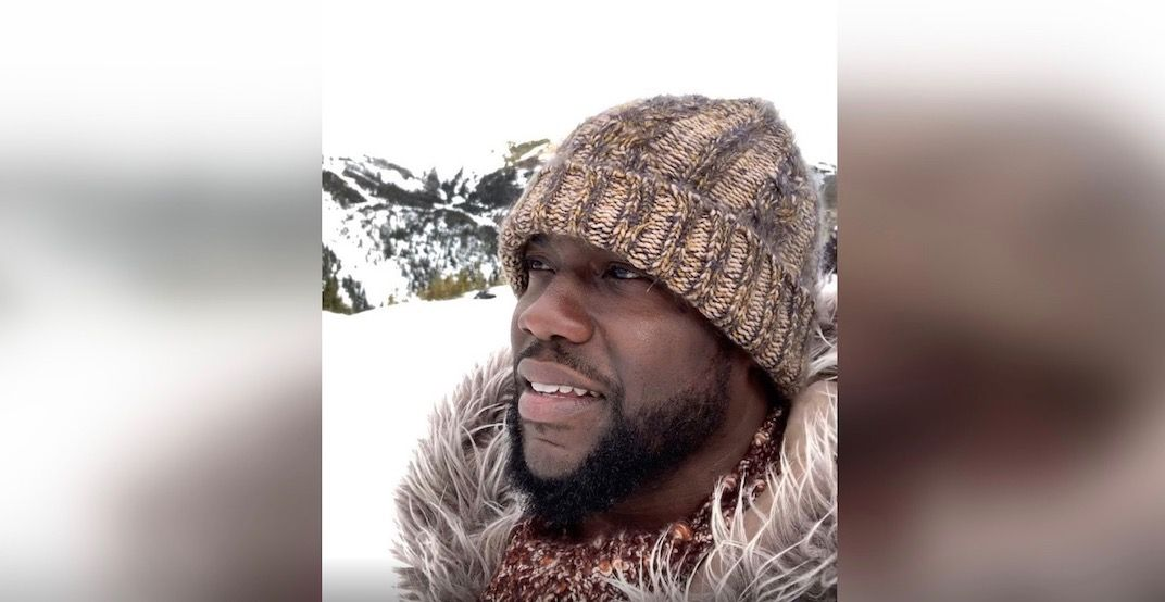 Kevin Hart shows off stunning views of the Canadian Rockies