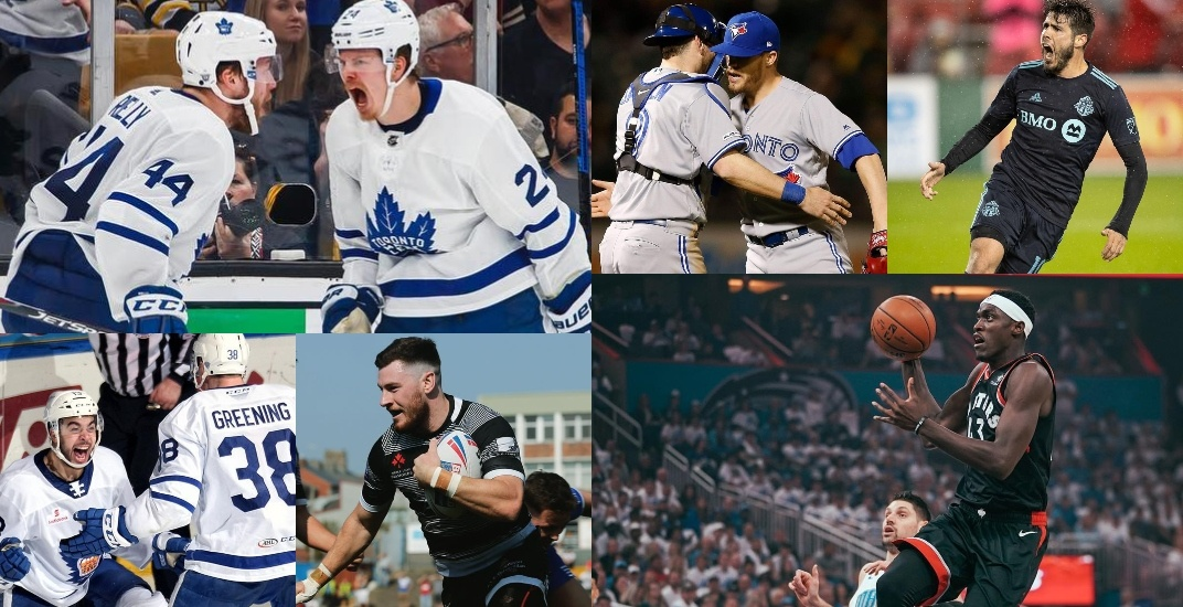 6 Toronto pro sports teams win on the same day for first time ever